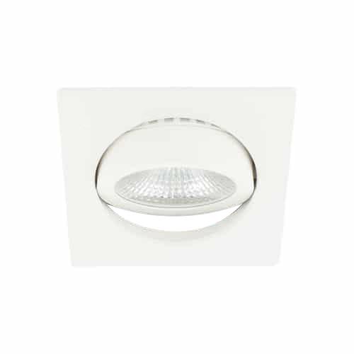 LED spot kantelbaar 5Watt vierkant WIT dimbaar-D-3
