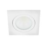 LED spot kantelbaar 5Watt vierkant WIT dimbaar-D2-1
