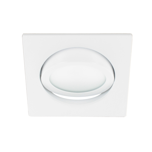 LED spot kantelbaar 5Watt vierkant WIT dimbaar-D2-3