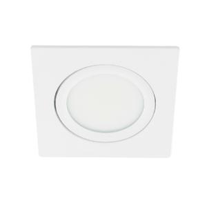 LED spot kantelbaar 5Watt vierkant WIT dimbaar-D3-1