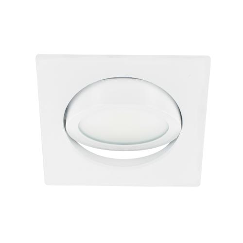 LED spot kantelbaar 5Watt vierkant WIT dimbaar-D3-3