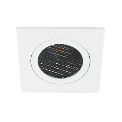 LED spot kantelbaar 5Watt vierkant WIT dimbaar-D5-1