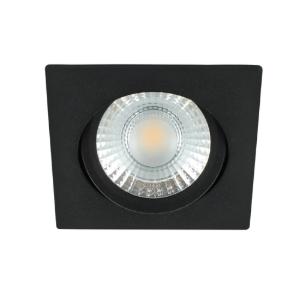 LED spot kantelbaar 5Watt vierkant ZWART dimbaar-D1-2