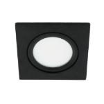 LED spot kantelbaar 5Watt vierkant ZWART dimbaar-D3-1