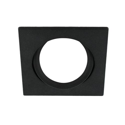 LED spot kantelbaar 5Watt vierkant ZWART dimbaar-D3-2
