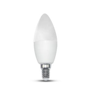 Novo E14 SMART LED lamp 9Watt kaars dimbaar RGBW