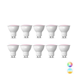 Novo GU10 SMART LED lamp 5,5Watt dimbaar RGBW Set 10x