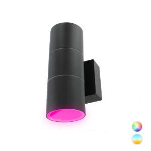 Novo Smart LED schuttinglamp RGBW IP65 5Watt dimbaar rond up en down