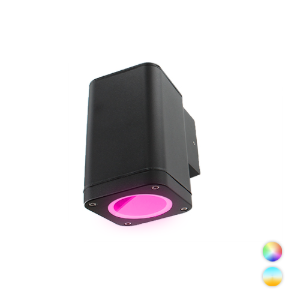 Novo Smart LED schuttinglamp RGBW IP65 5Watt dimbaar vierkant down