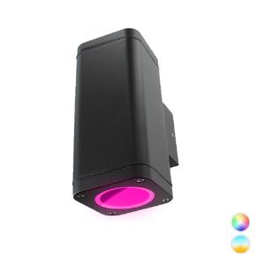 Novo Smart LED schuttinglamp RGBW IP65 5Watt dimbaar vierkant up en down