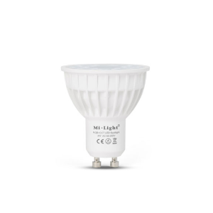 Smart LED lamp RGBW GU10 4Watt dimbaar
