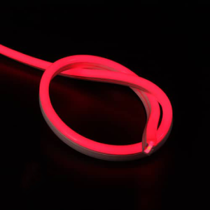LED neon flex 220V rood IP67 dimbaar per-meter plug & play
