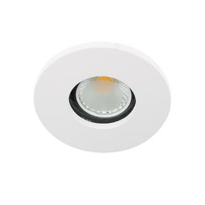 LED spot GU10 COB 3Watt rond WIT IP65 dimbaar D1