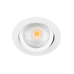 LED spot kantelbaar 5Watt rond WIT IP65 dimbaar D-2