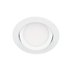 LED spot kantelbaar 5Watt rond WIT IP65 dimbaar D3-2