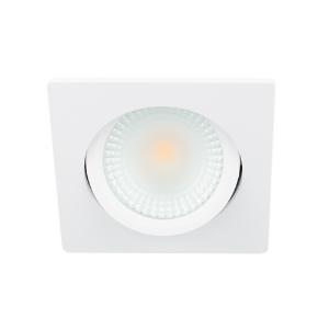 LED spot kantelbaar 5Watt vierkant WIT IP65 dimbaar D2-2
