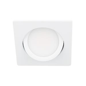 LED spot kantelbaar 5Watt vierkant WIT IP65 dimbaar D3-2