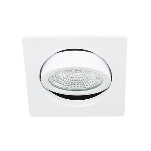 LED spot kantelbaar 5Watt vierkant WIT dimbaar D-3
