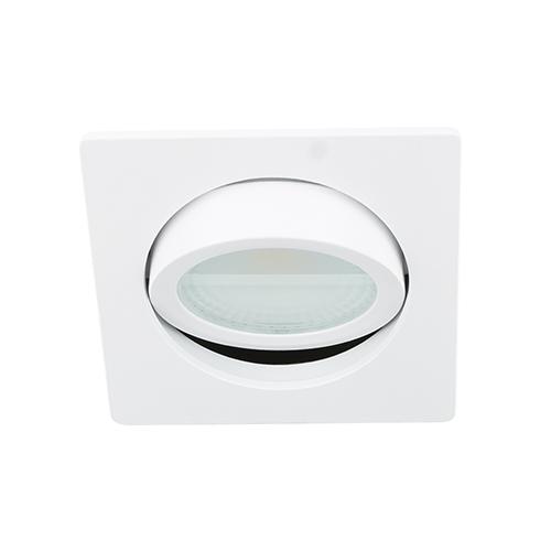 LED spot kantelbaar 5Watt vierkant WIT dimbaar D2-3