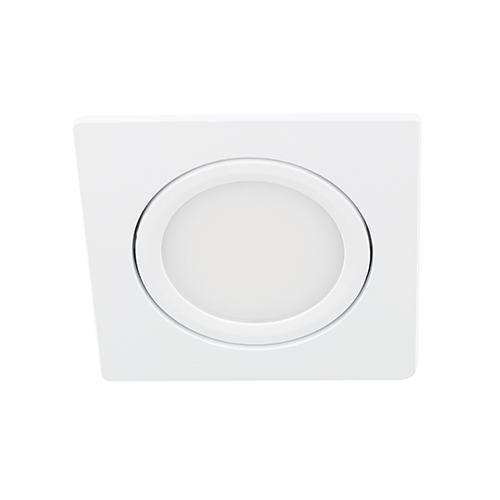 LED spot kantelbaar 5Watt vierkant WIT dimbaar D3-1