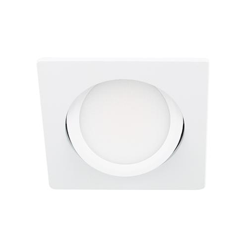 LED spot kantelbaar 5Watt vierkant WIT dimbaar D3-2