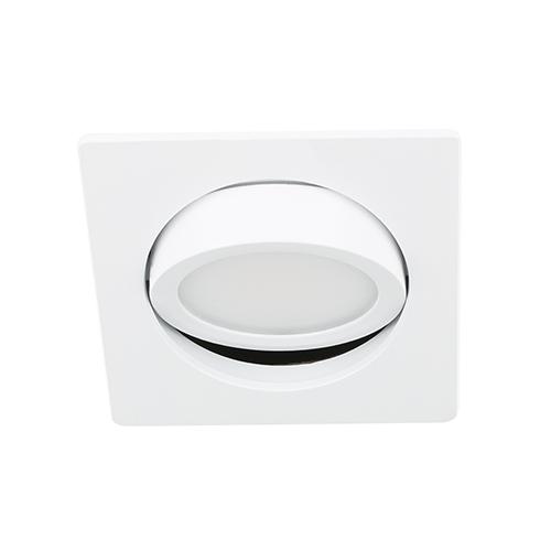 LED spot kantelbaar 5Watt vierkant WIT dimbaar D3-3