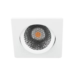 LED spot kantelbaar 5Watt vierkant WIT dimbaar D5-3