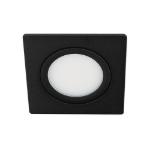 LED spot kantelbaar 5Watt vierkant ZWART dimbaar D3-1