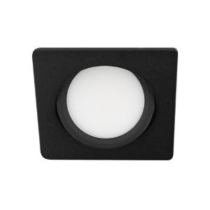 LED spot kantelbaar 5Watt vierkant ZWART dimbaar D3-2