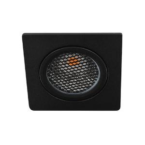 LED spot kantelbaar 5Watt vierkant ZWART dimbaar D5-1