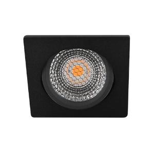 LED spot kantelbaar 5Watt vierkant ZWART dimbaar D5-2